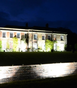 Yarlinton House Exterior Lights night